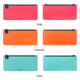 Color - Fenice Premium PU seamless pen pencil case pouch