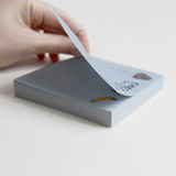 Easy tear off - Gunmangzeung Ghost pop checklist memo planner notepad