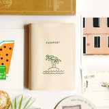 gyou All about travel passport case holder - island