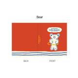Bear - ROMANE Brunch brother 4X6 slip in pocket photo album