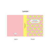 Lemon - ROMANE Brunch brother 4X6 slip in pocket photo album