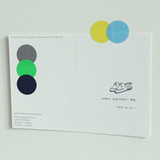 Example of use - Dailylike Color 22mm circle deco sticker 4 sheets
