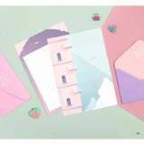 06 - Second Mansion Moonlight letter paper envelope set ver2