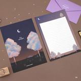 14 - Second Mansion Moonlight letter paper envelope set ver2
