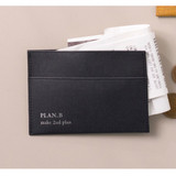 Example of use - Byfulldesign Oxford palm flat card case wallet