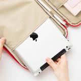 Right 1 pocket - Livework Som Som pocket tablet iPad zip fabric pouch