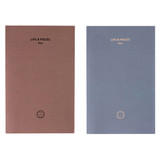 Livework Life and pieces small lined notebook