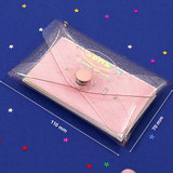 Size - Second Mansion Moonlight twinkle folding card case wallet