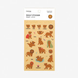 Dailylike Daily transparent deco sticker - Little lion