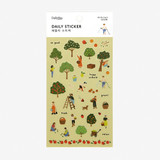 Dailylike Daily transparent deco sticker - Orchard