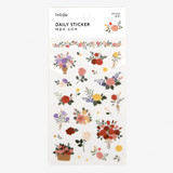 Dailylike Daily transparent deco sticker - Rose