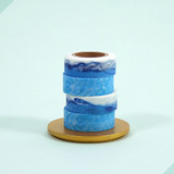 Universe water 15mm width deco masking tape 07