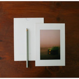 5X7 White paper photo frame set of 10 sheets