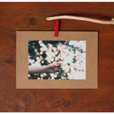 4X6 Kraft paper photo frame set of 10 sheets