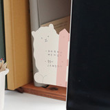 Example of use - ICONIC Peekaboo 60 sheets memo writing notepad