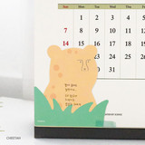 Cheetah - ICONIC Peekaboo 60 sheets memo writing notepad
