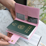 Play Obje Diamond pattern travel passport case holder