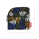 Size - All new frame F collection mini zipper pouch