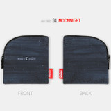 Moon night - All new frame F collection mini zipper pouch