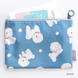 Bichon - ICONIC Comely water resistant medium flat pouch bag
