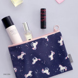 Unicorn - ICONIC Comely water resistant medium flat pouch bag