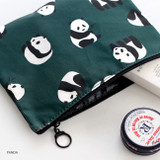 Panda - ICONIC Comely water resistant medium flat pouch bag