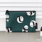 Panda - ICONIC Comely water resistant small flat pouch bag