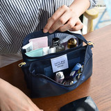 Navy - Play Obje Feel so good 3 pockets travel mesh zipper pouch