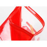 Detail of Be on D Fake food medium clear zip lock pouch