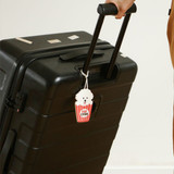 Popcorn bichon - Dailylike Cute silicone travel luggage name tag