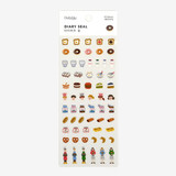 Dailylike Bakery PVC cute seal sticker for the diary