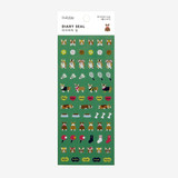 Dailylike Welsh corgi PVC cute seal sticker for the diary