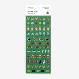 Dailylike Welsh corgi PVC cute seal sticker for the diary
