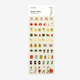 Dailylike Market PVC cute seal sticker for the diary