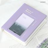 Lavender - ICONIC Instax mini polaroid slip in photo album ver4