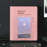 Pink - ICONIC Instax mini polaroid slip in photo album ver4