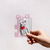 Example of use - Jelly bear party small clear zip lock pouch