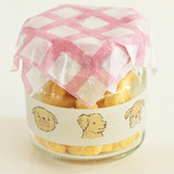 Example of use - Dailylike Friendly puppy single roll paper masking tape