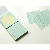 Example of use - Dailylike Memo two way memo writing notepad