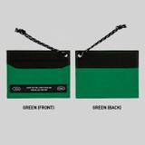 Green - BNTP Today flat card pocket case holder