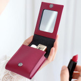 Example of use - ICONIC Slit lipstick cosmetic pouch case with mirror