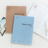 Wanna This 2020 Month classic large dated monthly planner