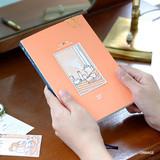 Orange - Wanna This My 20 illustration dated weekly diary agenda