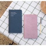2020 Notable memory slim and handy dated monthly planner