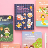 Ardium 2020 Hello coco dated weekly diary planner