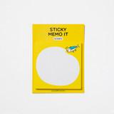 Front - DESIGN IVY Ggo deung o sticky notes memo pad
