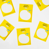 DESIGN IVY Ggo deung o sticky notes memo pad