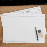 Free dot and line note