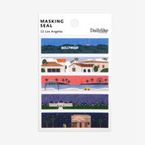 Dailylike Los Angeles masking seal paper deco sticker set