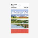Dailylike Switzerland masking seal paper deco sticker set